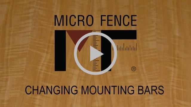 Changing Mounting Bars