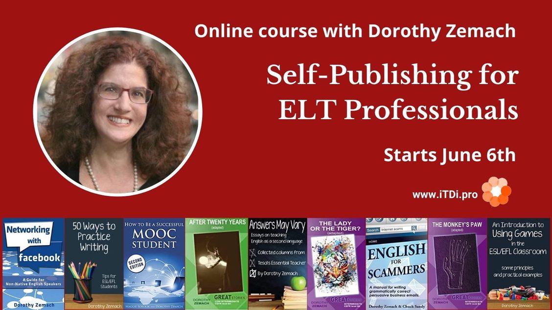 self-publishing for elt professionals