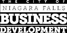 The City of Niagara Falls Business Development Logo