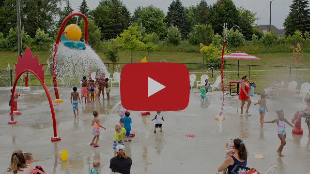 Chief Gene Shepard Park Splash Pad - Shelby Charter Township, MI - Visit a Splash Pad - Aquatix®