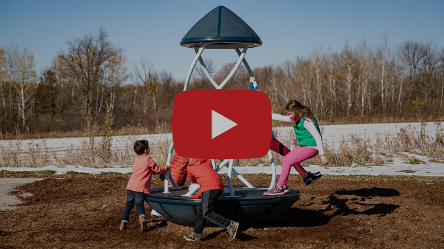 WhirlyQ™ Spinner - Freestanding Play - Landscape Structures