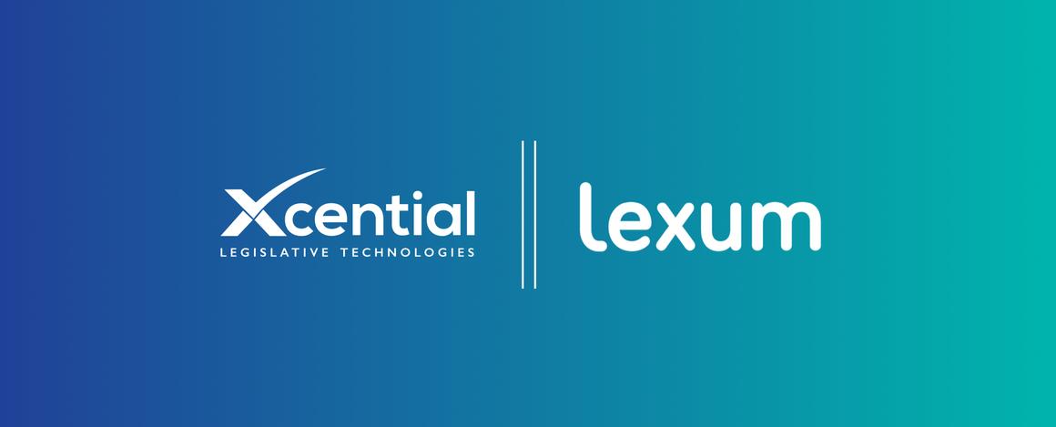 Xcential Lexum Partnership graphic