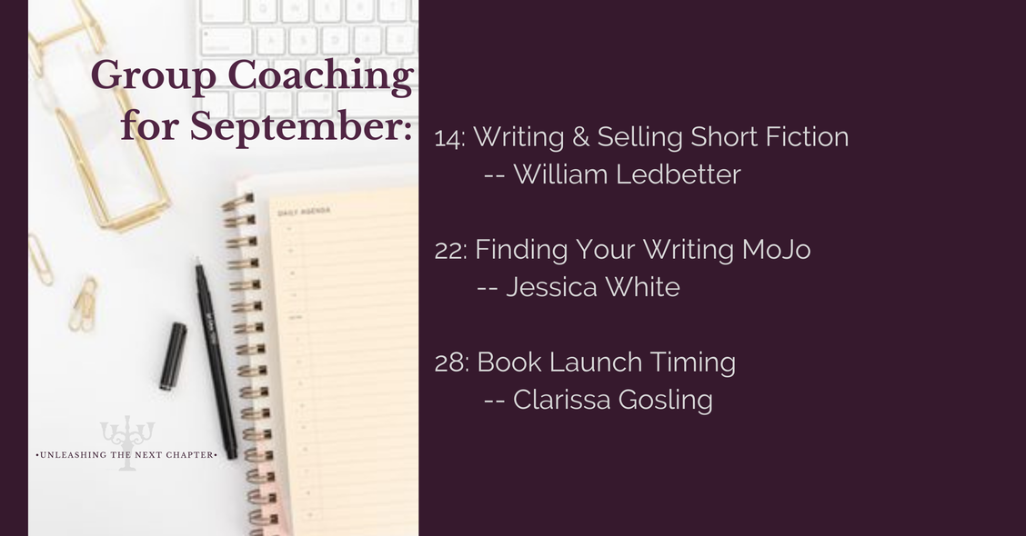 Small Group Coaching Schedule for September