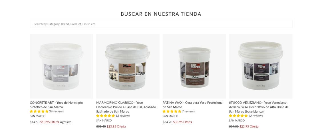 The Decora Company Spanish Site