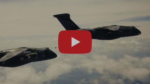 Aerial Refueling Qualification KC-390 Millennium