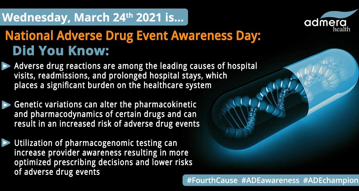 Pharmacogenomics to Reduce Adverse Drug Events