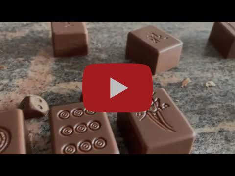 First Belgian Mahjong chocolates (2021) by Tim Lauwers