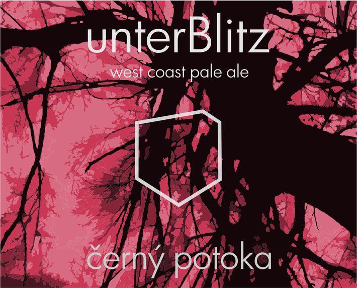 Pivo Cerny Potoka unterBlitz