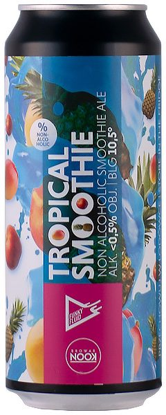 FUNKY FLUID / NOOK FREE TROPICAL SMOOTHIE 0,5L