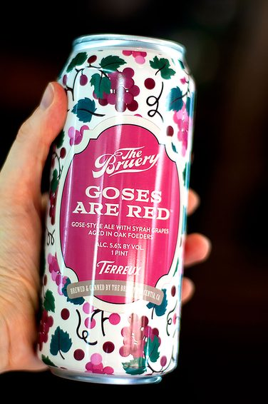 THE BRUERY GOSES ARE RED 0,473L