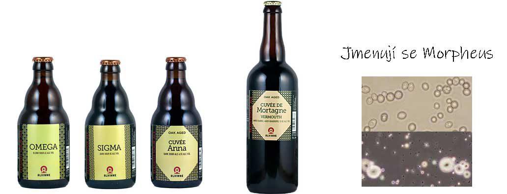 Belgická piva Alvinne