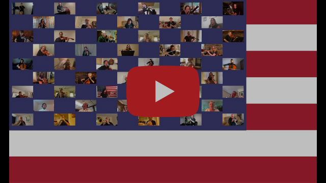 Newark Symphony Orchestra - National Anthem