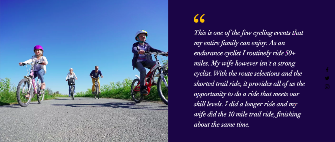 Testimonial about Everybody rides