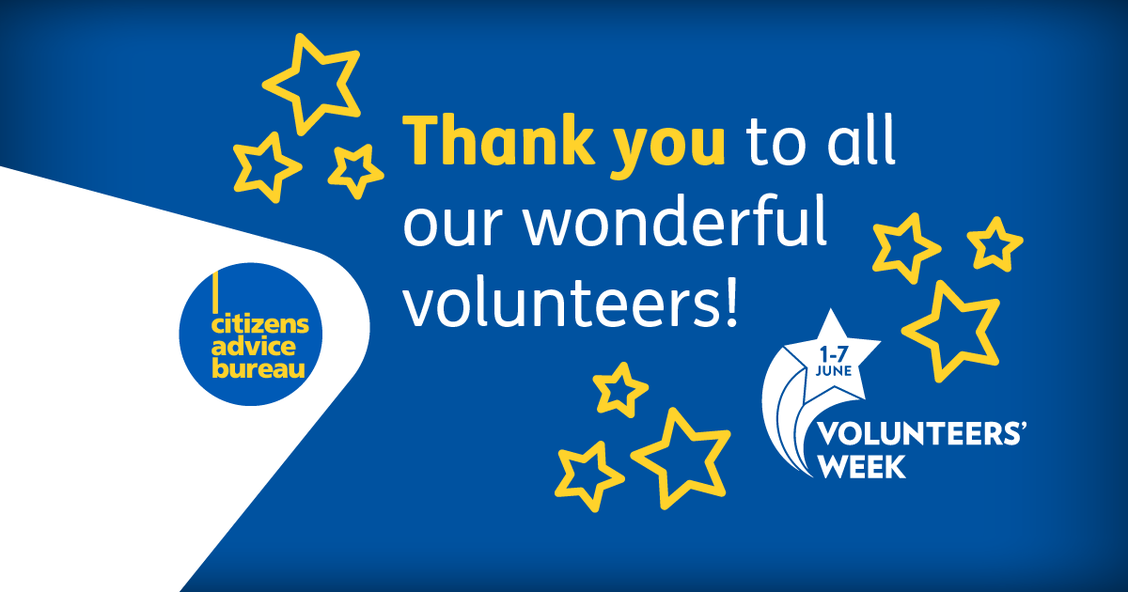 Thank you to all our wonderful volunteers!