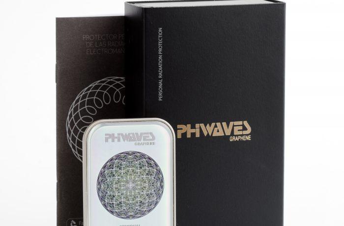 PHIWAVES grafén 5G personlig beskyttelse  PHIWAVES gir personlig beskyttelse mot helseskadelig elektromagnetisk stråling, der du er.