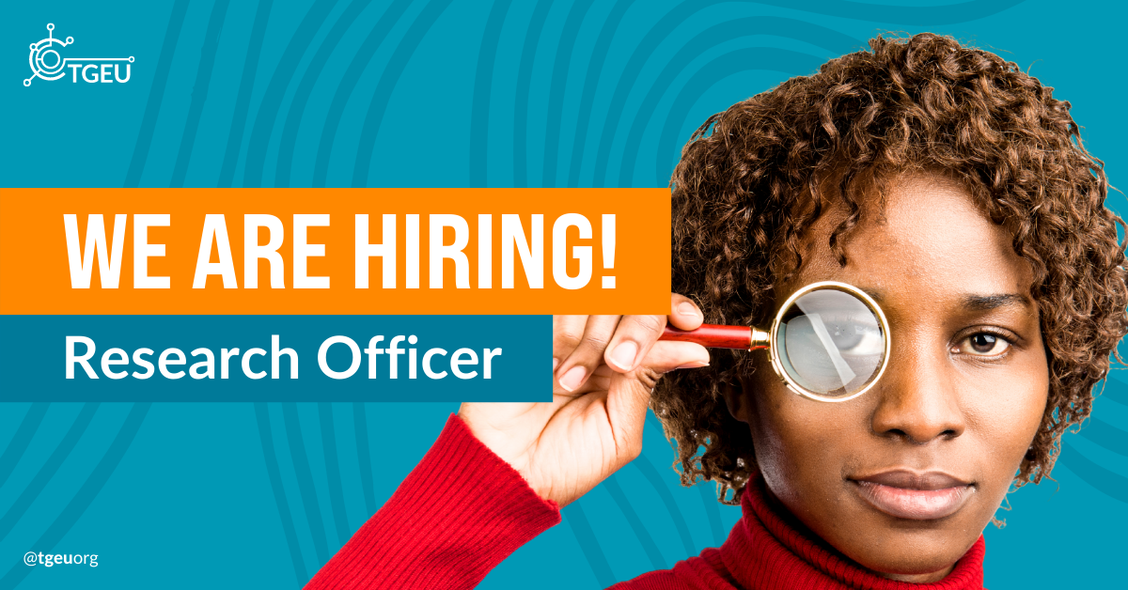 We are hiring a Research Officer!