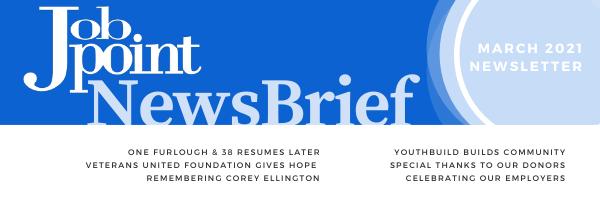 Job Point News Brief: March 2021 Newsletter
