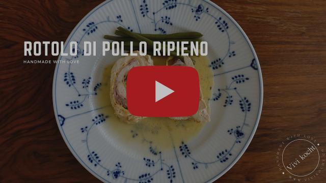 Welcome to my Channel I Rotolo di Pollo Ripieno di Vivi