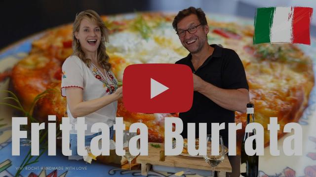 Frittata Burrata I Vivi kocht mit Siegfried Terpoorten