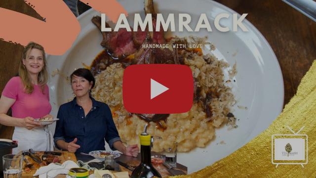 Feines Lammrack mit schwarzem Trüffel I Vivi kocht mit Grazia Pergoletti