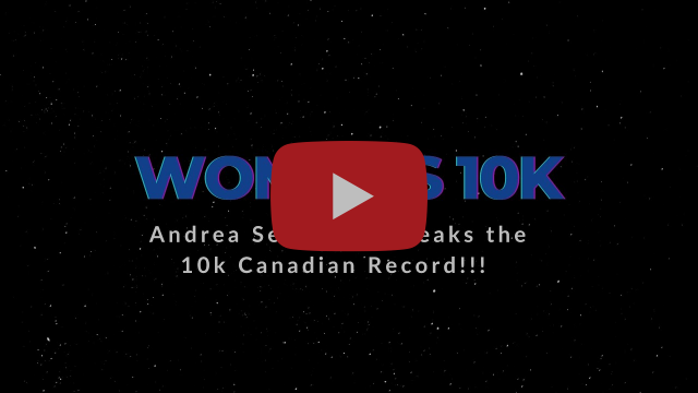 Andrea Seccafien Breaks the Canadian 10k Record + Leads 3 Under the Olympic Standard !!!