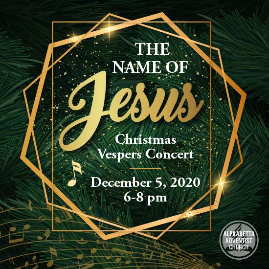 Christmas Vespers Concert Dec 5, 2020