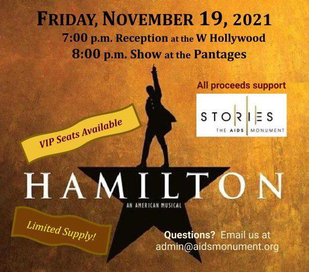 Hamilton at The Pantages Theatre