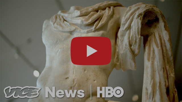 "Why Ancient Marble Statues Aren't Meant To Be Seen As ""White"" (HBO)"