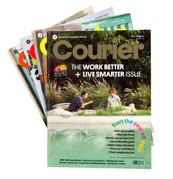 Six Issues of Courier Magazine