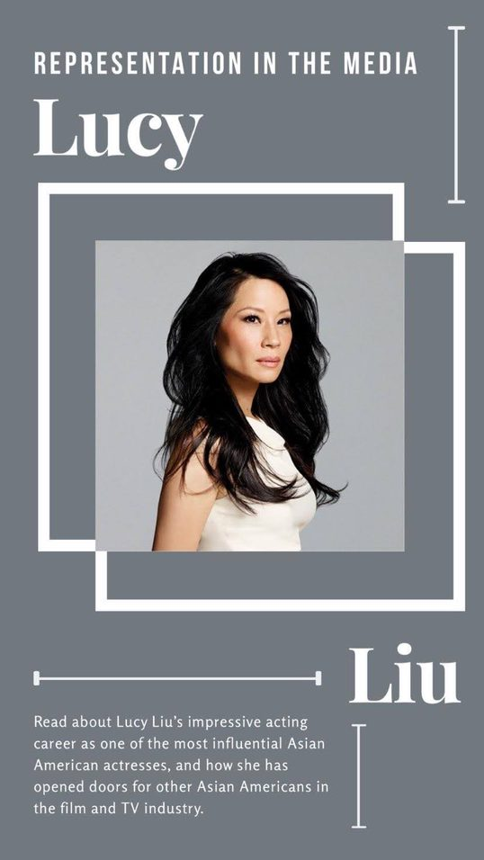 Representation in Media - Lucy Liu