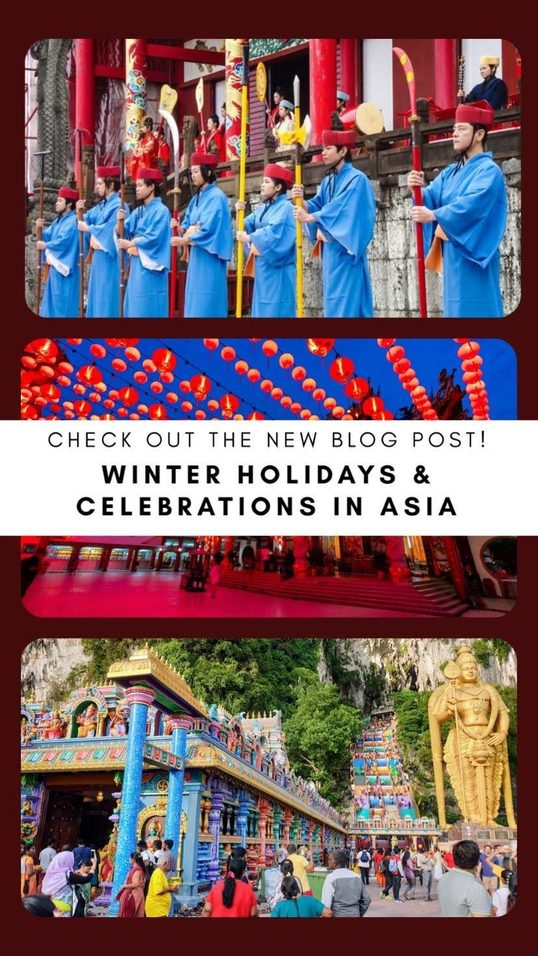 Winter Holidays/Celebrations in Asia