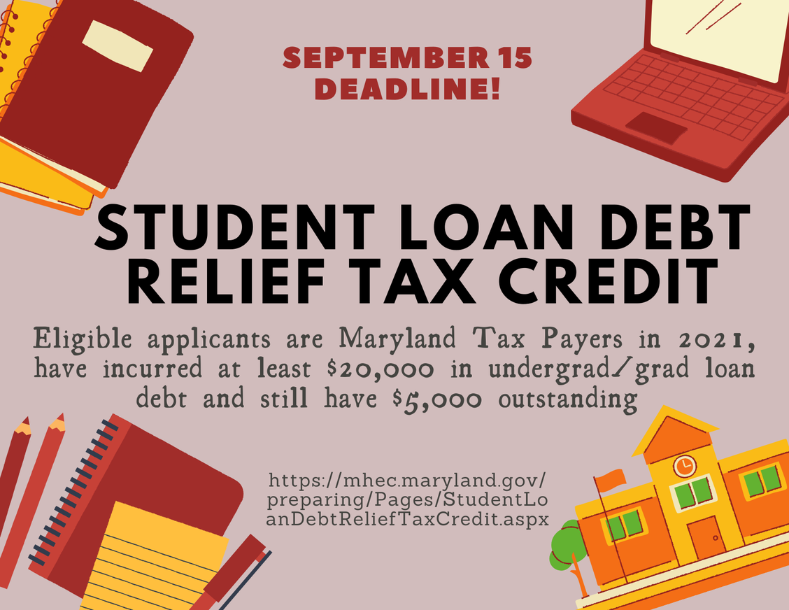Click Here to access the Student Loan Relief Application