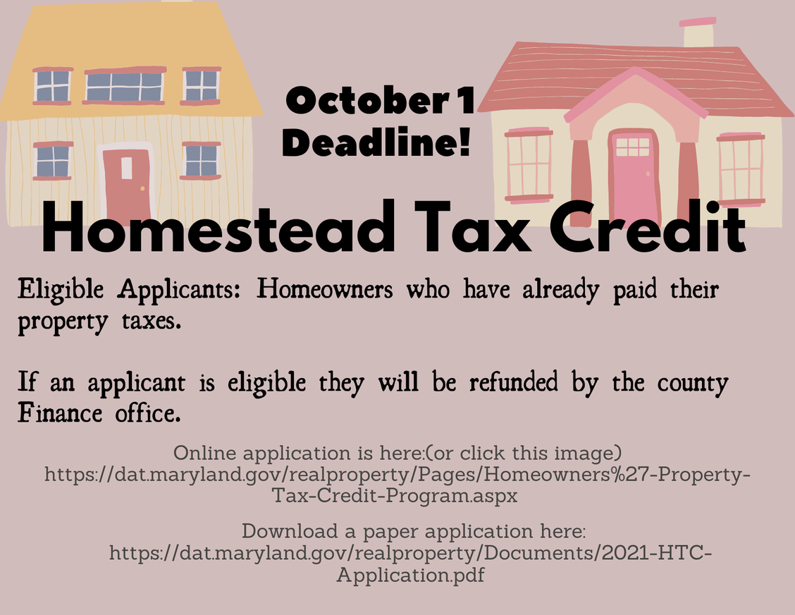 Click here for the Homestead Tax Credit