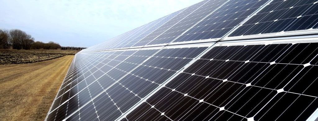 One of the CSA solar panels