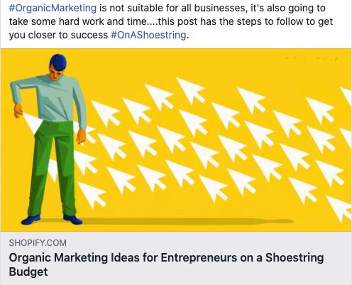 Organic Marketing Ideas for Entrepreneurs on a Shoestring Budget