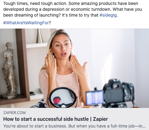 How to start a successful side hustle