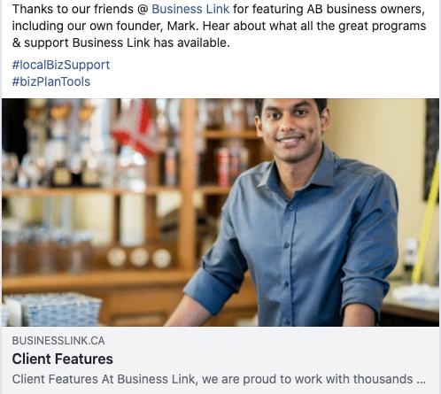 Business Link Client Feature