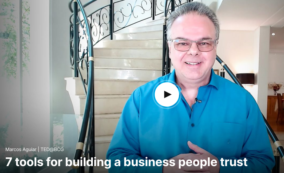 Marcos Aguiar: 7 tools for building a business people trust