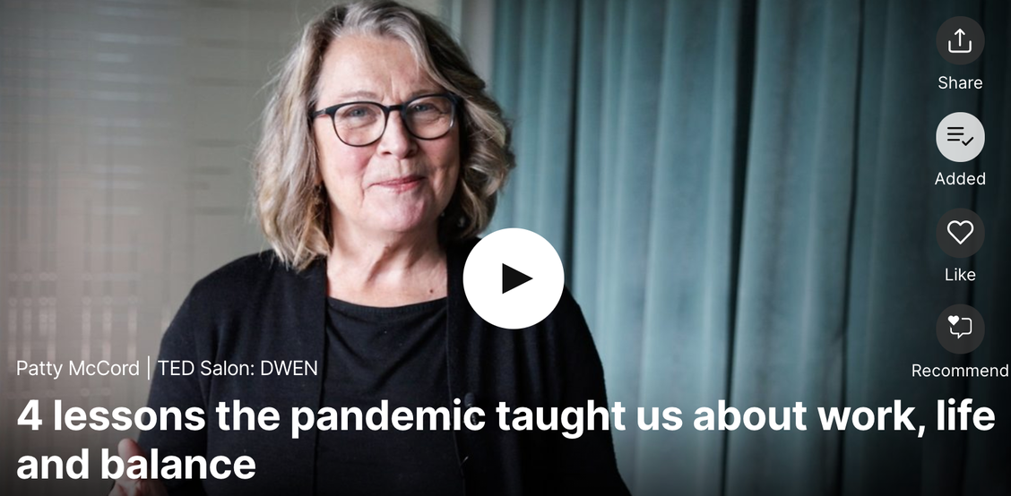 Patty McCord: 4 lessons the pandemic taught us about work, life and balance