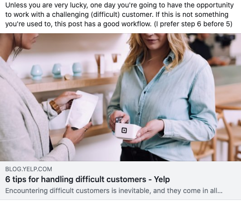 6 tips for handling difficult customers