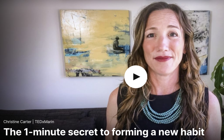 The 1-minute secret to forming a new habit