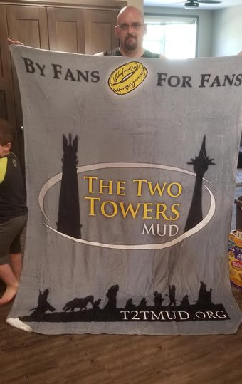 T2T blanket posted on the facebook group