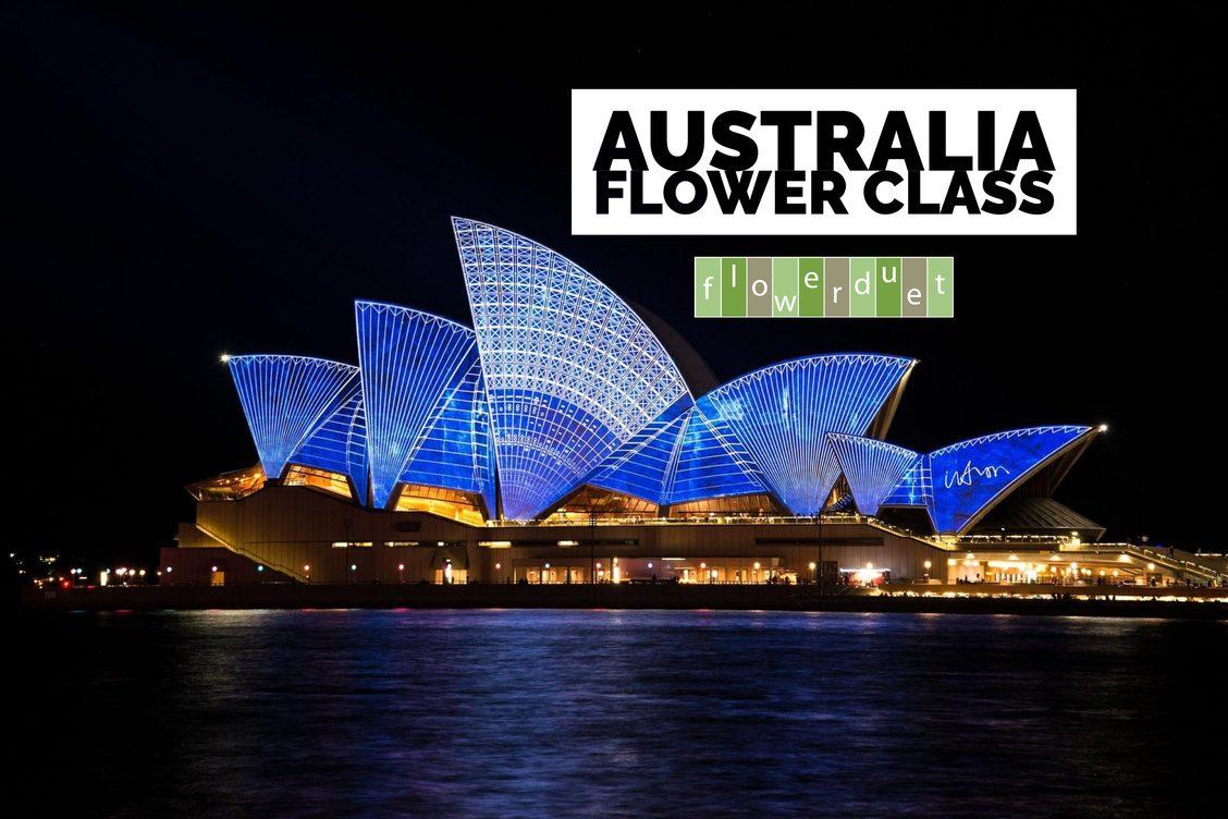 Australia Flower Class image of Sydney Opera House