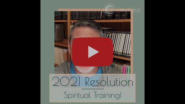 Spiritual Training- Thoughts with Pastor Matt Hoyt