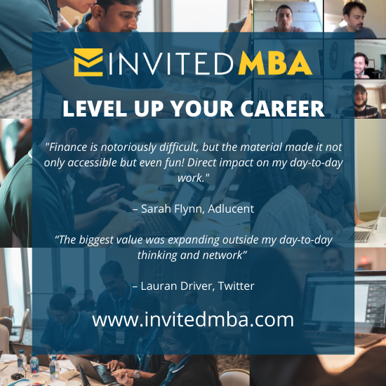 Invited MBA information