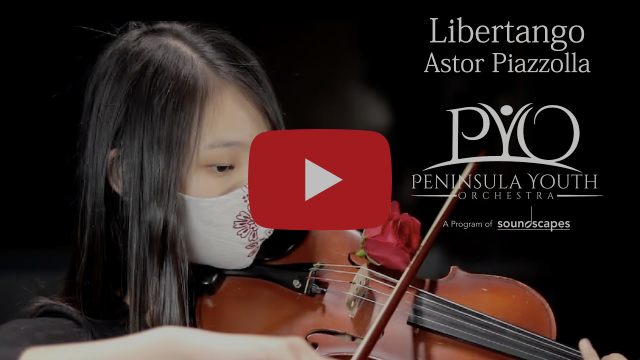 Libertango by Astor Piazzolla, performed by Peninsula Youth Orchestra