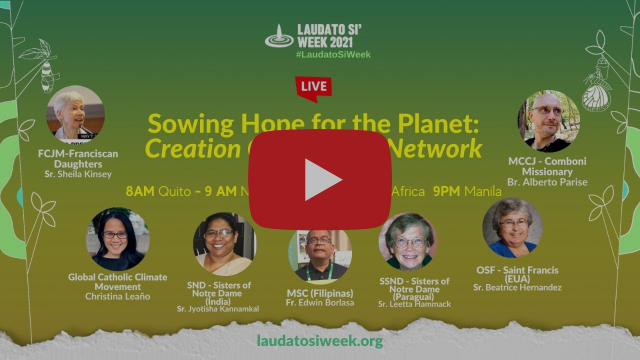 Sowing Hope for the Planet: Creation Care Prayer Network. | LSW Day 4