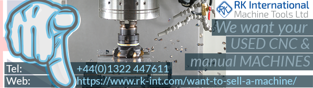 RK want your used cnc and manual machines