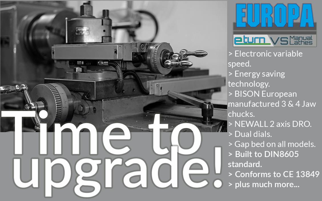 EUROPA eturn VS - time to upgrade