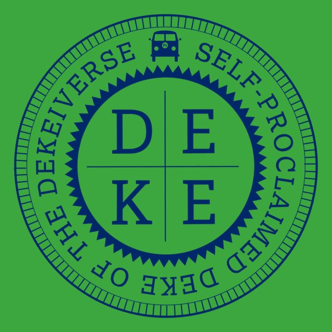 Great Seal (PS Van) of Deke on green background